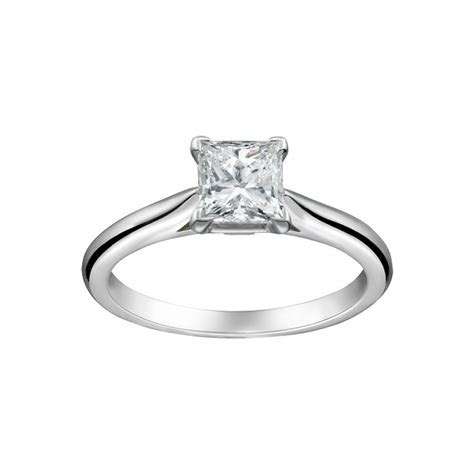 Cartier Solitaire Engagement Ring   Cartier Engagement