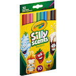 Crayola Silly Scents - Marker - assorted colors - fine - pack of 10