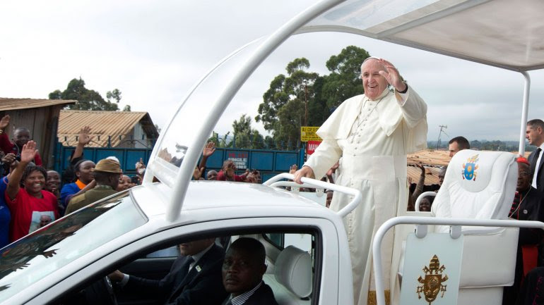 El papa Francisco estuvo tres días Kenia