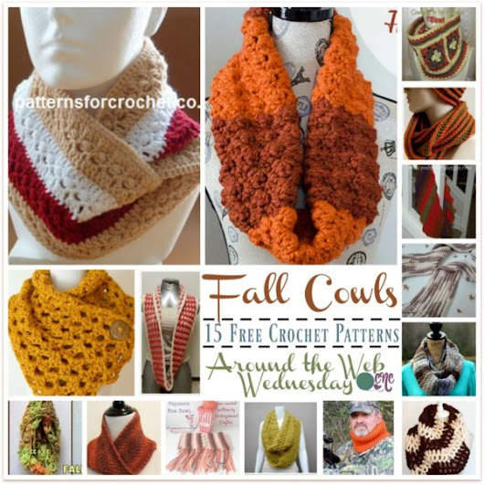 Crochet Cowls for the Fall ~ 15 FREE Crochet Patterns - CrochetN'Crafts