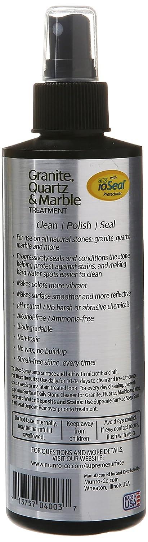 Amazon.com: Supreme Surface Granite & Quartz, Cleaner, Polish and ...