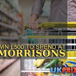 Win £500 to Spend at Morrisons Free Online Comp - Free Entry UK Competitions -> Competitions 4 Free