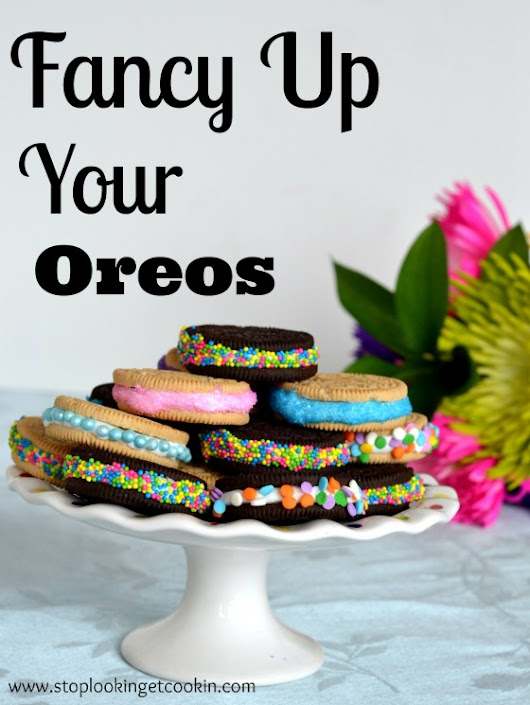 Fancy Up Your Oreo » Stop Lookin'. Get Cookin'.