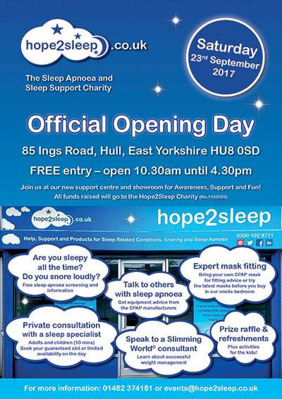 Exciting News of our Official Open/Awareness/Support Day