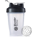 Blender Bottle Classic 20 oz. Shaker with Loop Top - Clear/Black