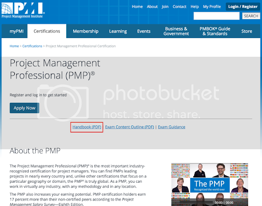 PMI - Wake Up! PMP Handbook is Out of Date since Jan 12, 2016