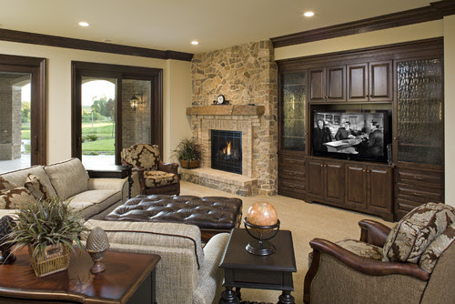 Traditional Family Room By Edina General Contractors John