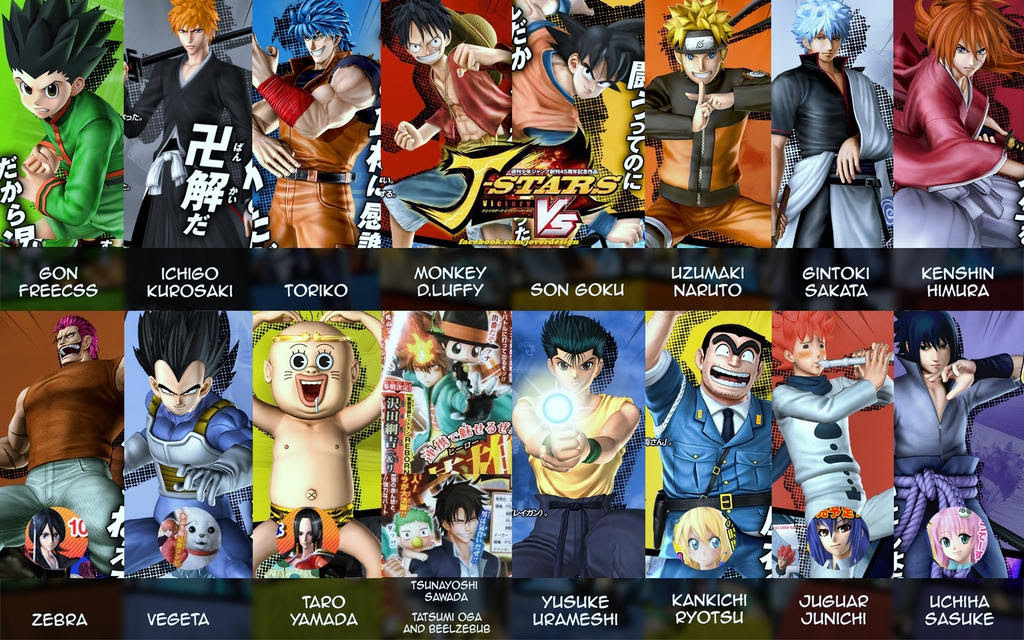 J-star victory vs personagens download free