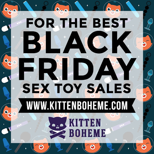 Black Friday & Cyber Monday 2017 Sex Toy Sales & Deals