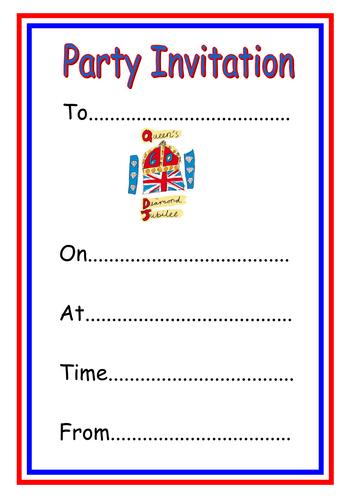 Editable Invitation Template Ks1