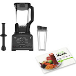 Ninja Chef 1500W Blender Duo with Single Serve Cup and Nutritional Cook Book