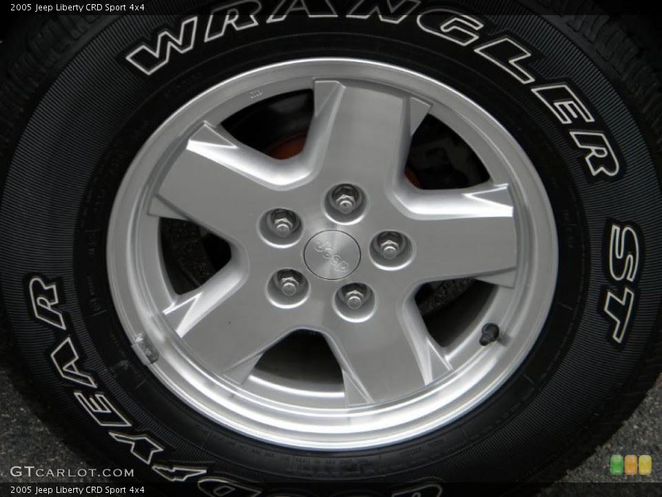 2005 Jeep Liberty Tires