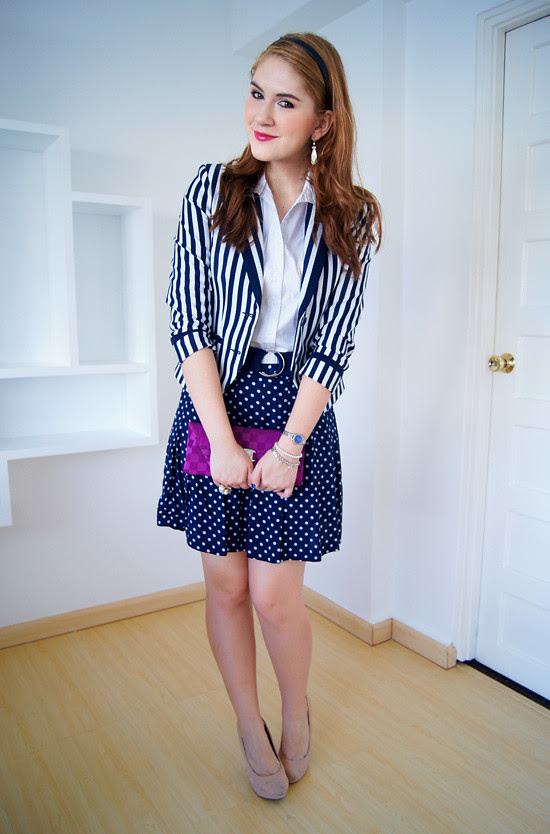 Pattern mixing by The Joy of Fashion (1)