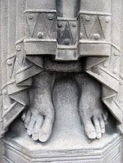 Feet of Saint Paul, Holy Trinity Church