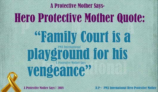 ProtectiveMotherSays/Hero Protective Mother Quote
