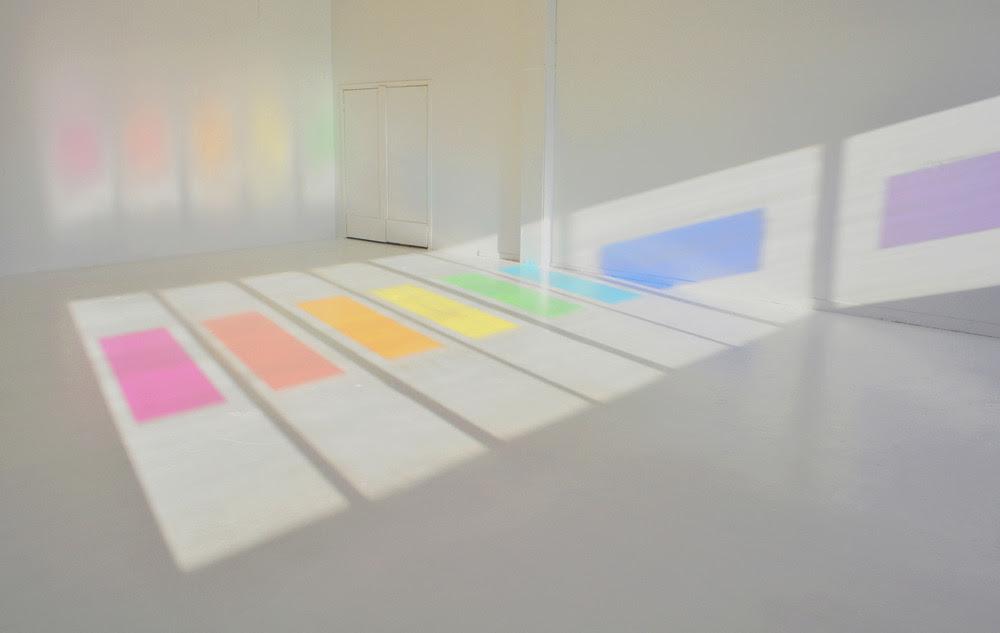 Jessica Houston: Full Spectrum (2011) natural light, color gels