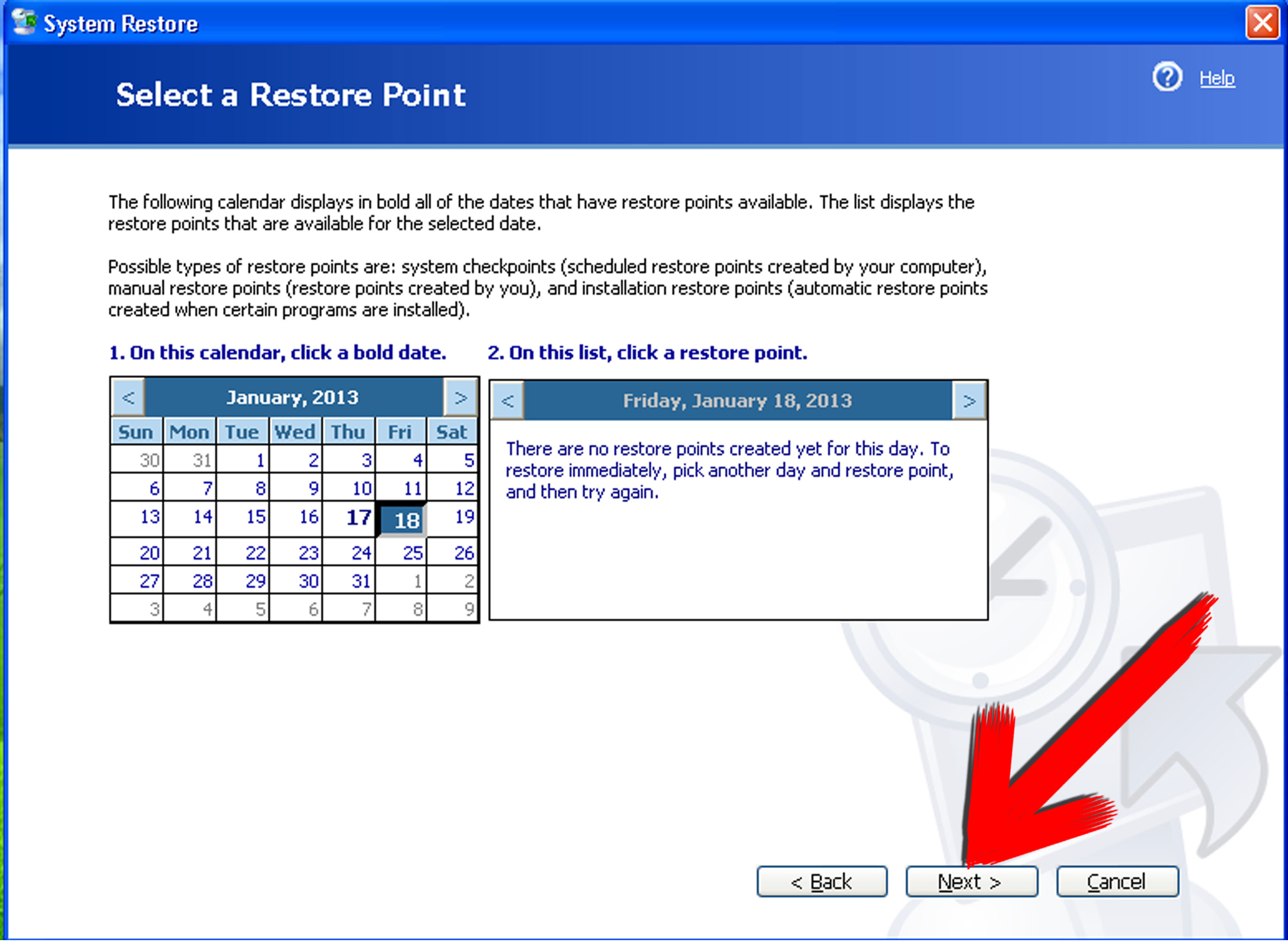 How to Use System Restore in Windows XP: 8 Steps (with Pictures)