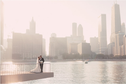 Embassy Suites Chicago Wedding - Melanie and Jon