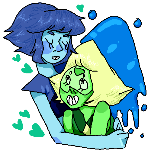 2 rocks who love each other very much