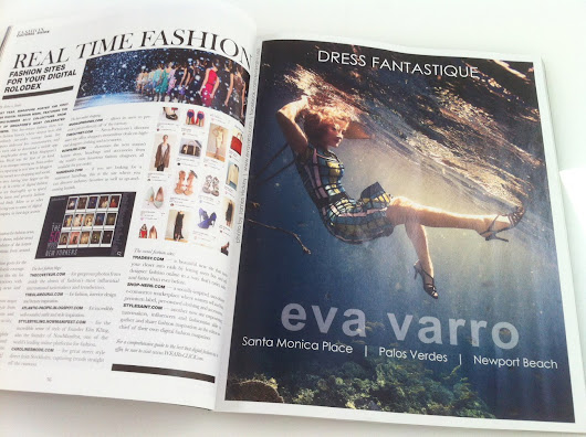 Underwater Fashion Photography in the Maldives, for Eva Varro