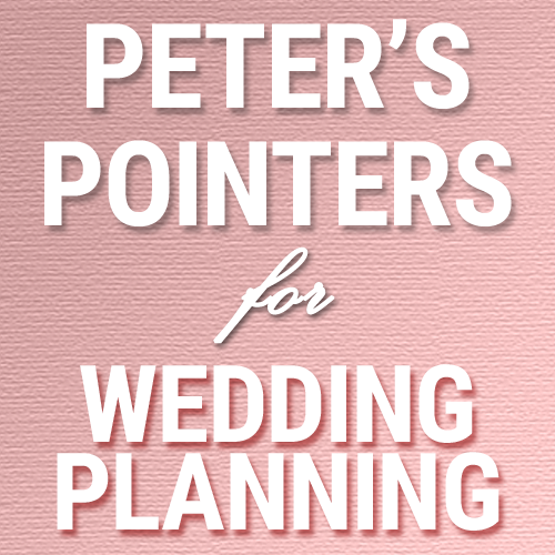 Peter's Pointers: Next steps for Alfred Angelo clients | Syracuse Wedding DJ | Peter Naughton Productions