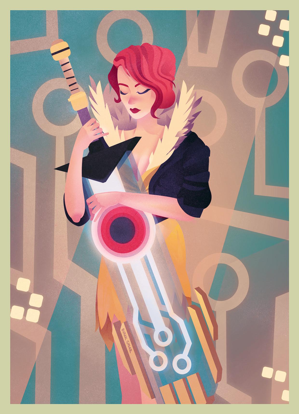 Transistor Fan Art byBurak Çınar