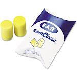 Classic Ear Plugs, Pillow Paks, Uncorded, PVC Foam, Yellow,