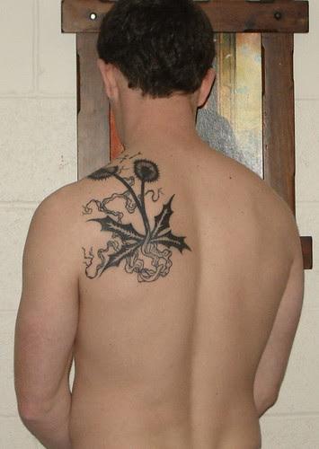 dandelion tattoos. dandelion tattoo