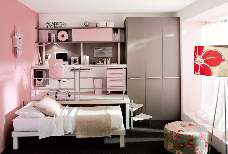 Colorful Teenage Loft Bedrooms by Tumidei | DigsDigs