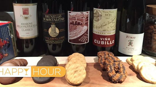 The Best Wine Pairings for Girl Scout Cookies, Tested