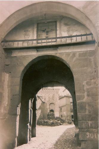 Mezquita del Cristo de la Luz (Toledo), a principios de siglo.