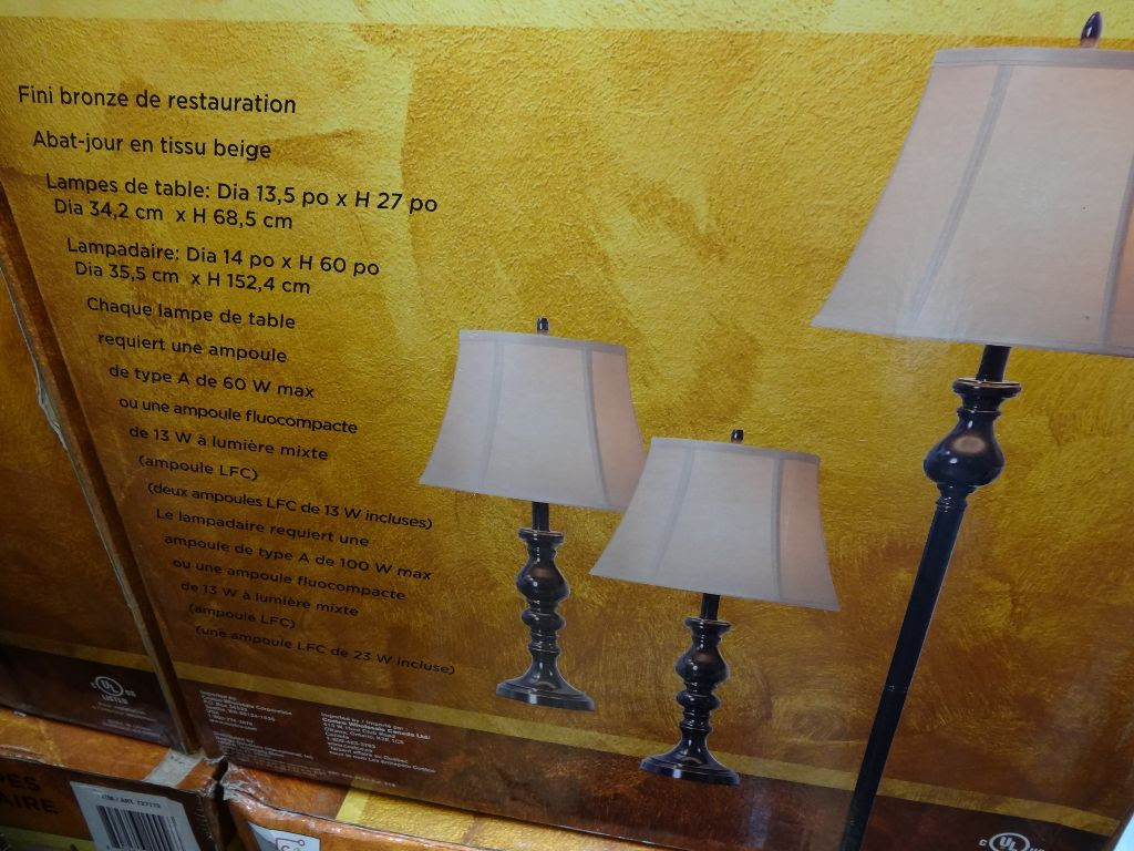 Design Solutions International 3 Pack Lamps