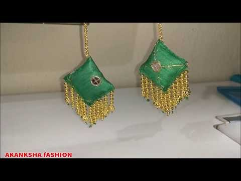 Very Beautiful Latkan For Blouse And Dress DIY at Home