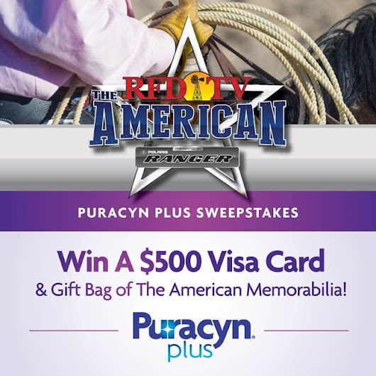 "Enter the Puracyn® Plus ""The American"" Sweepstakes"