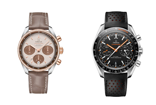 Baselworld 2017: Omega Speedmaster Cappuccino (unisex?) and Speedmaster Racing - The Watchology