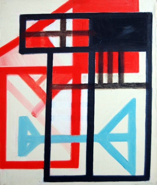 4 early works by Avto Meskhi *1946, Tbilisi, Georgia