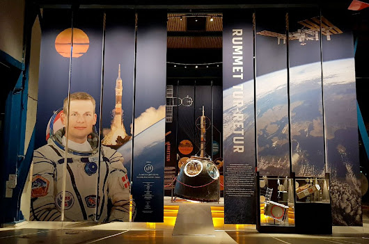 Soyuz spacecraft that flew first Dane, first yearlong ISS crew on display in Denmark | collectSPACE