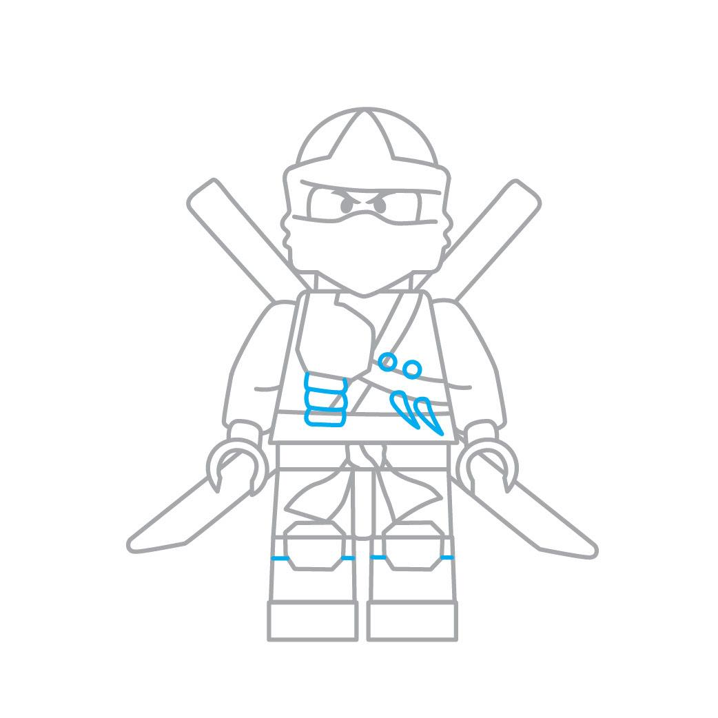 lloyd ninjago zeichnen