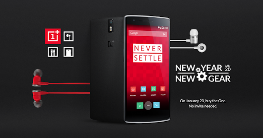 OnePlus New Year, New Gear Event