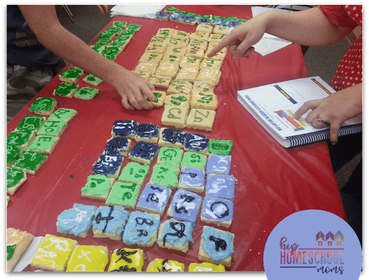 Periodic Table of Elements Project with Cookies - Hip Homeschool Moms