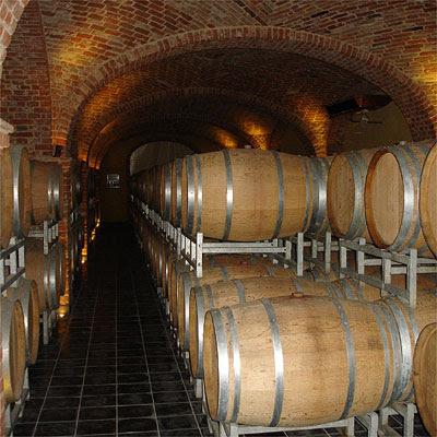 Giovanni Negro's brand new cellar