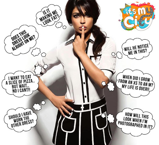 "PRIYANKA on Twitter: ""#GirlProblems? Nothing that a chat with our BFFs over some sinful junk food can't solve! Watch Epi. 6 @ItsMyCity_ """