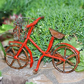 Miniture red Bicycle by dearmissmermaid.com
