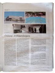 politis on Critical Archaeologies