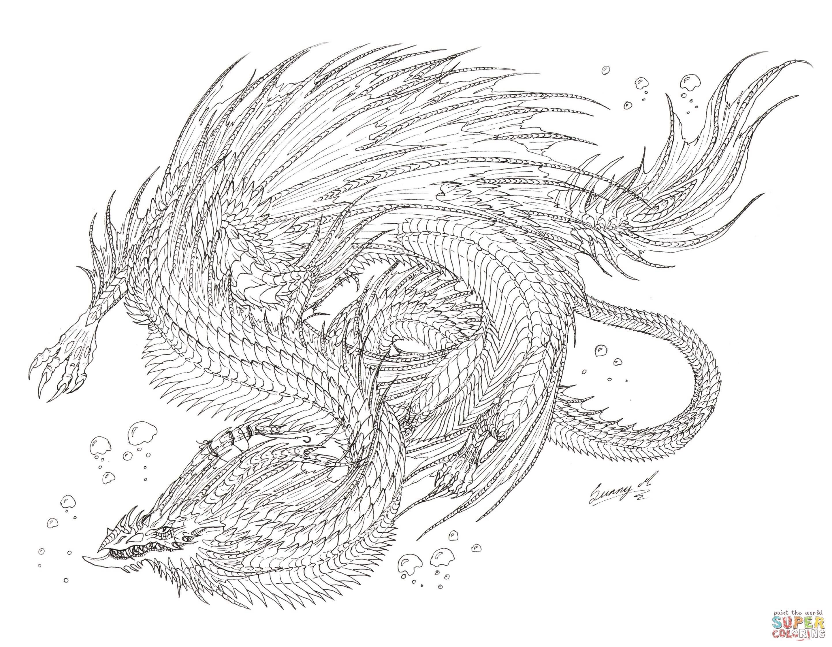 Klick das Bild Seeschlangen Drachen