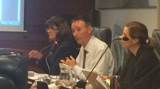 Councillor Craig Ogilvie said he is only guilty of being red-blooded.