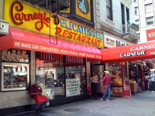Carnegie Delicatessen Restaurant