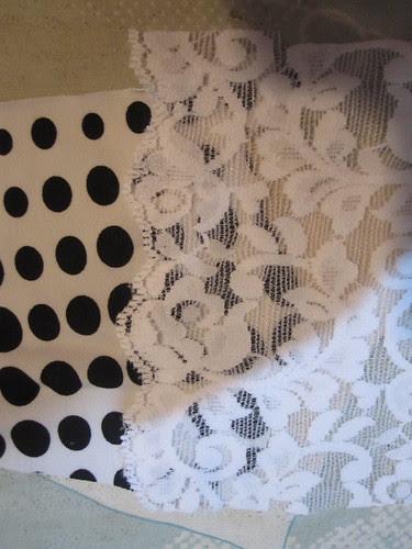 Stitch on Lace Insertion