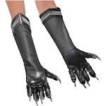 Boys Black Panther Gloves