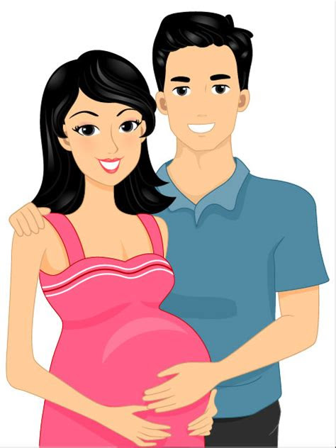 kata kunci kartun ibu hamil pasangan cinta kartun